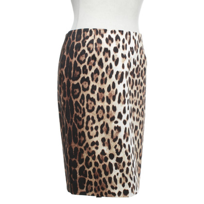 Moschino skirt with leopard pattern
