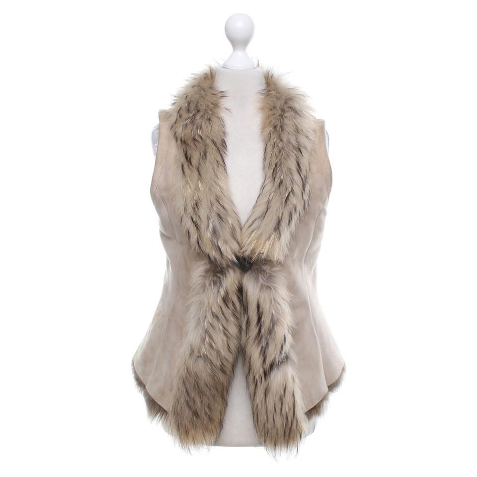 Vent couvert gilet avec fourrure acheter vent couvert gilet avec fourrure second hand d - Gilet avec fourrure ...
