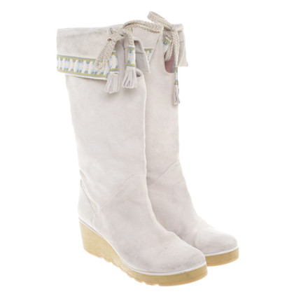 Marc Jacobs Suede boots in beige