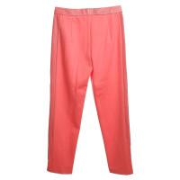 Escada pantaloni rossi corallo