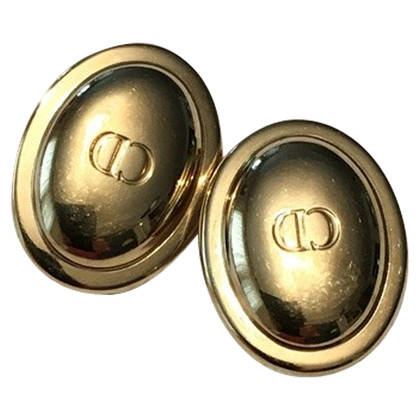Christian Dior Christian Dior gold earrings