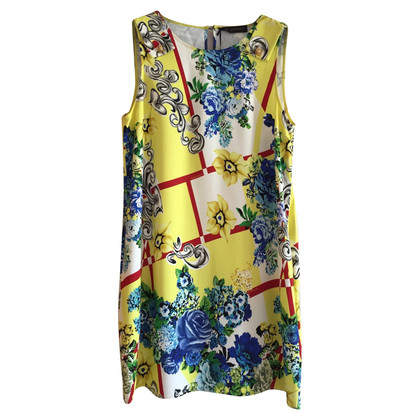 Versace Viscose dress flower design 50 IT