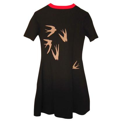 McQ Alexander McQueen wool dress with bell skirt