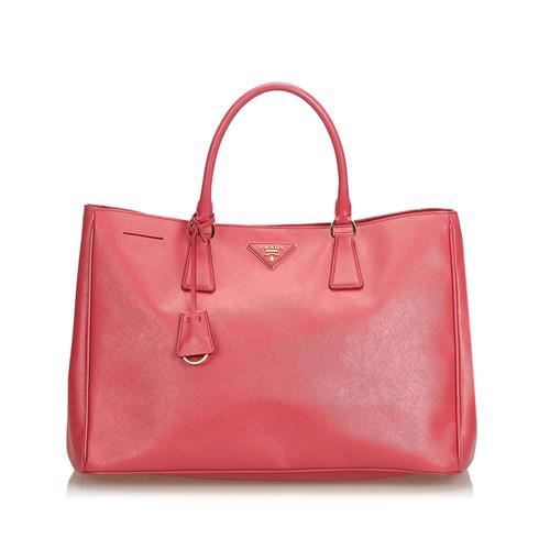 ffdefc7b23fb0 Prada Handtasche aus Leder in Rosa   Pink - Second Hand Prada ...