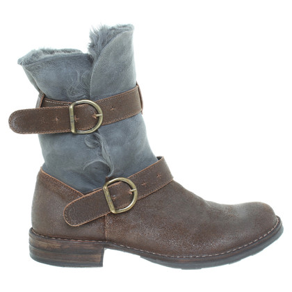 Fiorentini & Baker Boots made of sheepskin