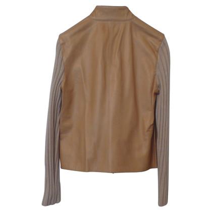 Brunello Cucinelli Jacke aus Leder/Kaschmir