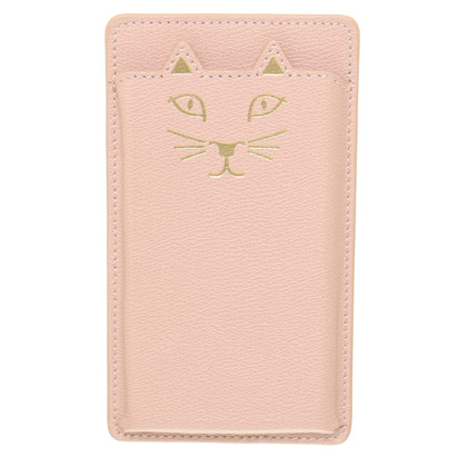 Charlotte Olympia Leather cell phone case