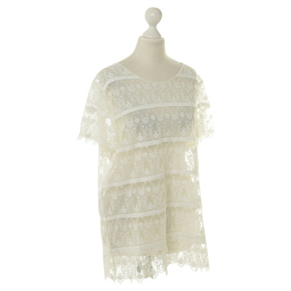 Stefanel Shirt made of lace