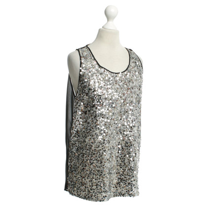Sandro Top with sequins
