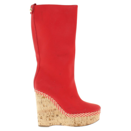 Dolce & Gabbana Wedge Boots