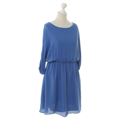 Alice + Olivia Abito in seta in Blu Royal