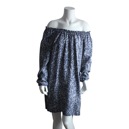 Michael Kors Off-spalla abito di seta