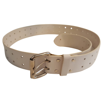 Marc Jacobs White belt