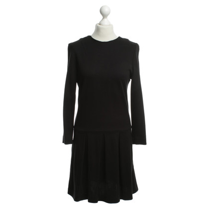 Ganni Black Stretchkleid