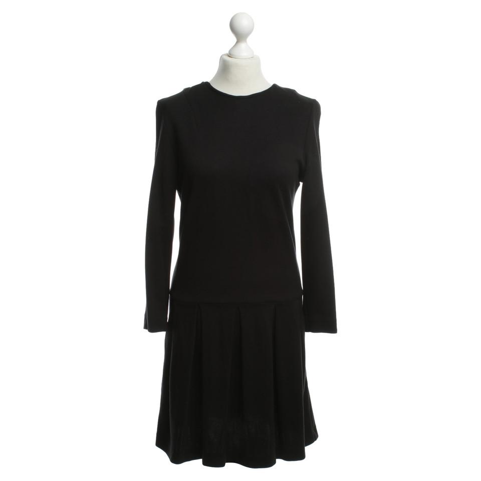 Ganni Black Stretchkleid