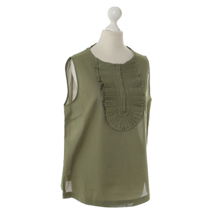 Marc by Marc Jacobs Top met geplooide hals