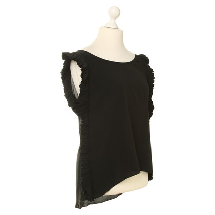 Sandro Silk blouse with Ruffles