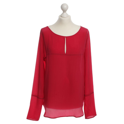 Drykorn Seidenbluse in Rot