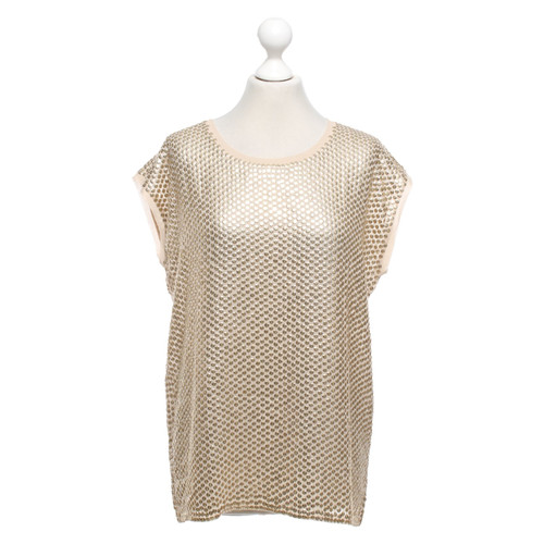 the latest c1ae9 5e46e Pinko top with sequin trim - Second Hand Pinko top with ...