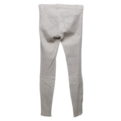 J Brand trousers made of leather