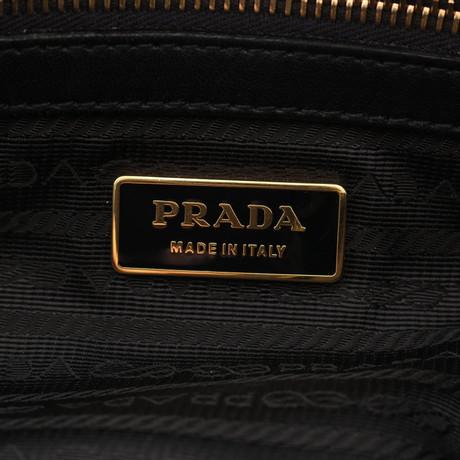 Großer Rabatt Schlussverkauf Prada Umhängetasche aus Leder Schwarz Große Auswahl An Günstigen Online CEKzoQbO4