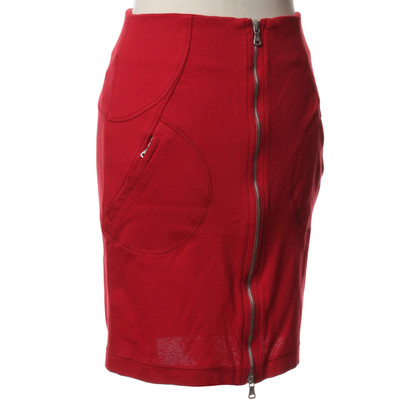 Ferre skirt in red