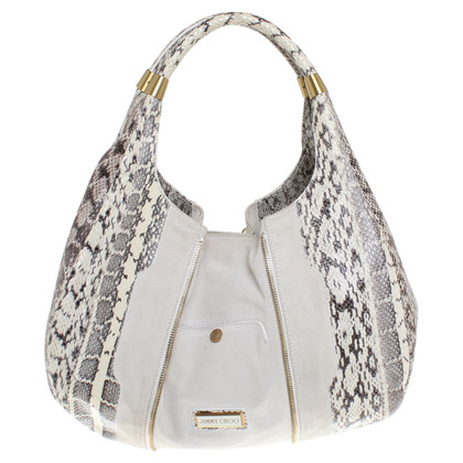Jimmy Choo Handbag in cream white