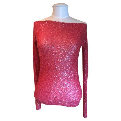 Donna Karan Lovertjes blouse