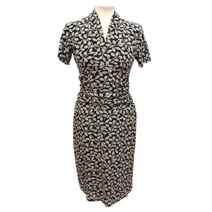Etro Silk dress with ruffles