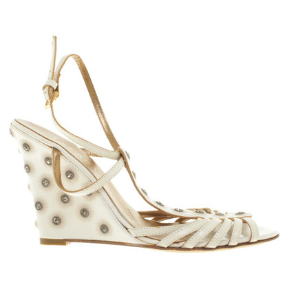Escada Wedge heel with rhinestones