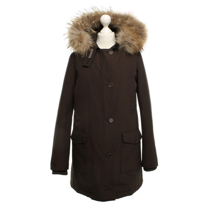 Woolrich giacca invernale in marrone scuro