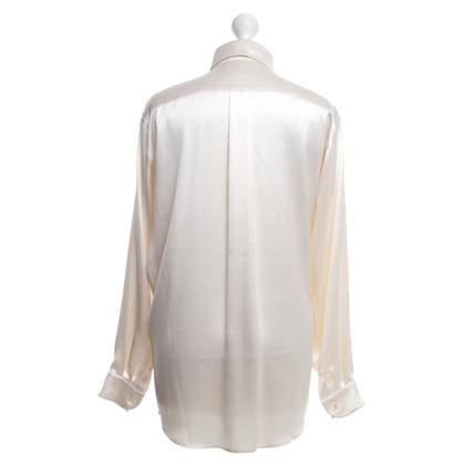 Hermès Silk blouse in cream