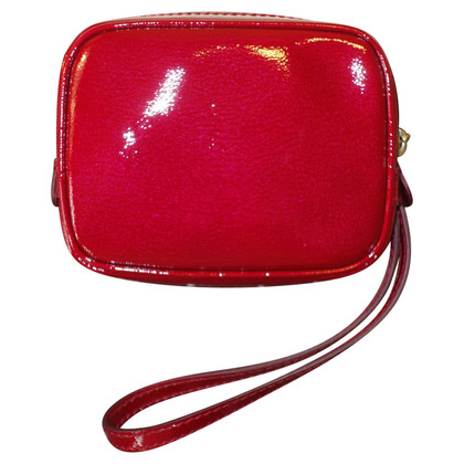 Céline clutch patent leather