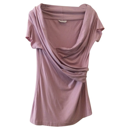 Max Mara top in pink