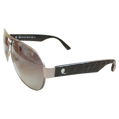 Alexander McQueen Sunglasses in Silbergrau