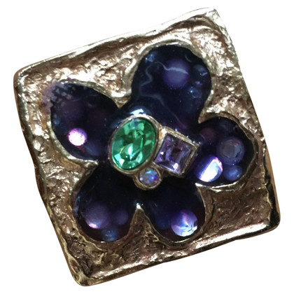 Christian Lacroix square brooch