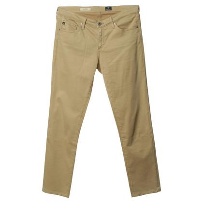 Adriano Goldschmied Beige narrow trousers