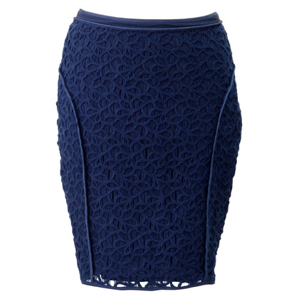 Reiss skirt in dark blue