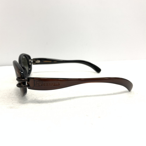 d4c57b3a67b0 Karl Lagerfeld Sunglasses in Brown - Second Hand Karl Lagerfeld ...