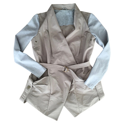 Brunello Cucinelli Spring jacket in taupe and gray