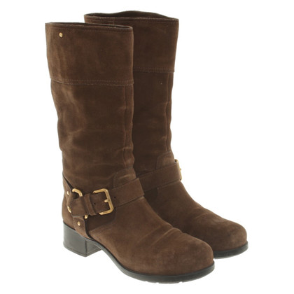 Prada Boots Suede