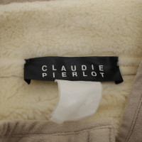Claudie Pierlot Giacca in pelle beige