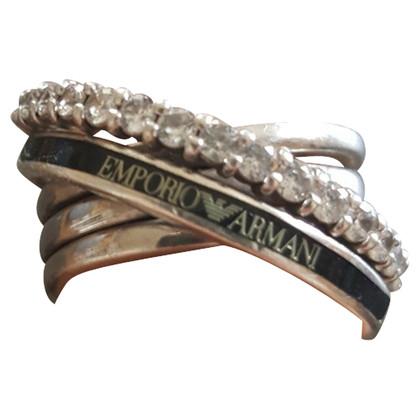 Armani zilveren ring