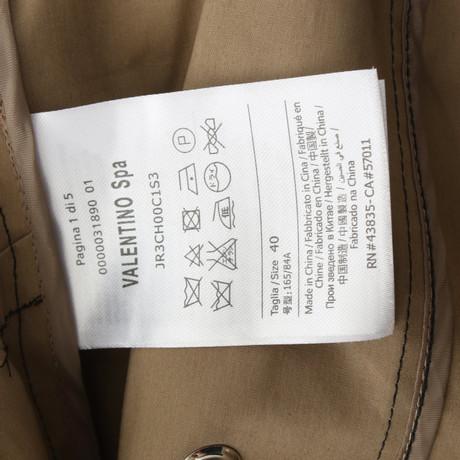 8439ab7884300e ... Grau-Outlet-Store Online Countdown-Paket Günstig Online Red Valentino  Mantel in Schwarz ...