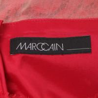 Marc Cain Robe de soirée en rouge