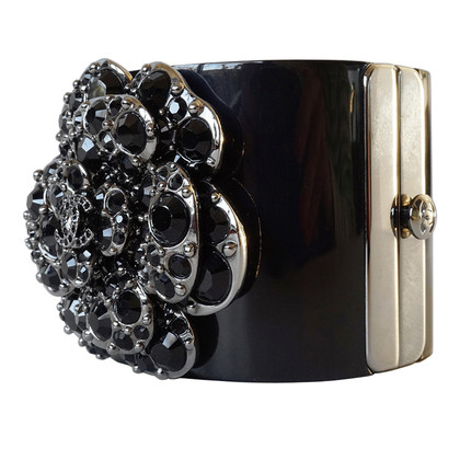 Chanel Bangle with XL Camellia