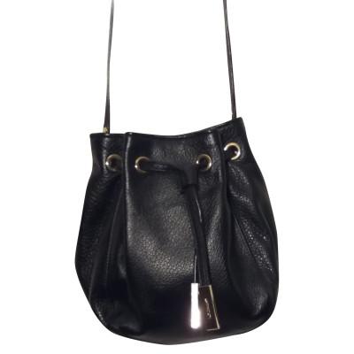 L.K. Bennett Shoulder bag Leather in Black
