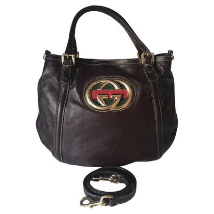 "Gucci ""Britt Hobo Bag"""