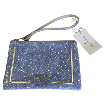 Patrizia Pepe Evening bag with glitter