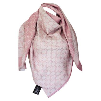 Gucci Guccissima-Tuch in Rosa